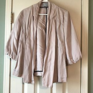 H&M blush 3/4 jacket